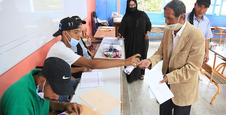 Reportage Photos / Cas d'une école casablancaise : Un vote sans fausse note !