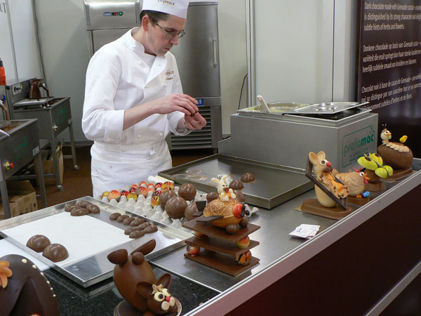 Promotion du chocolat «Made in Morocco»