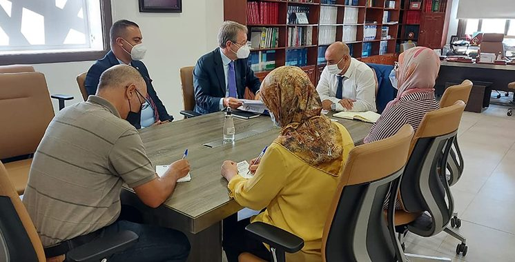 Des Portugais en mission d'affaires à Tanger