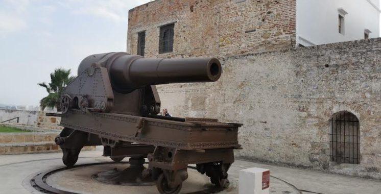 1 L'un des canons présentés sur le sitte