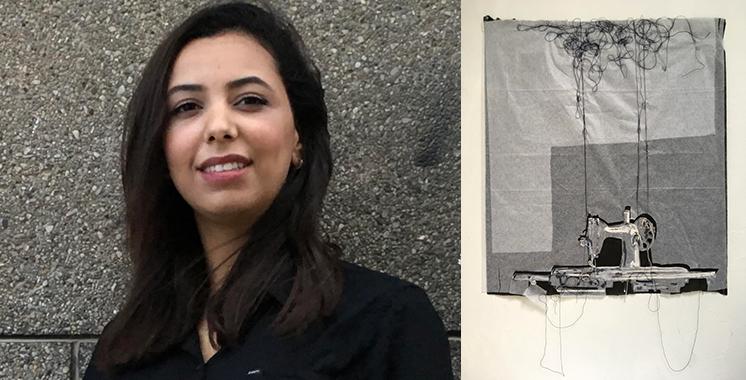 Sabrine Lahrach : «Ma participation au Parcours des arts me permet de m'ouvrir au public»