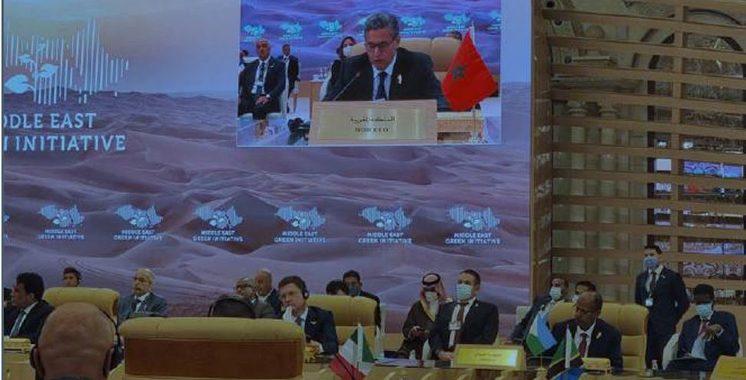 Changement climatique : Aziz Akhannouch prône la coopération régionale