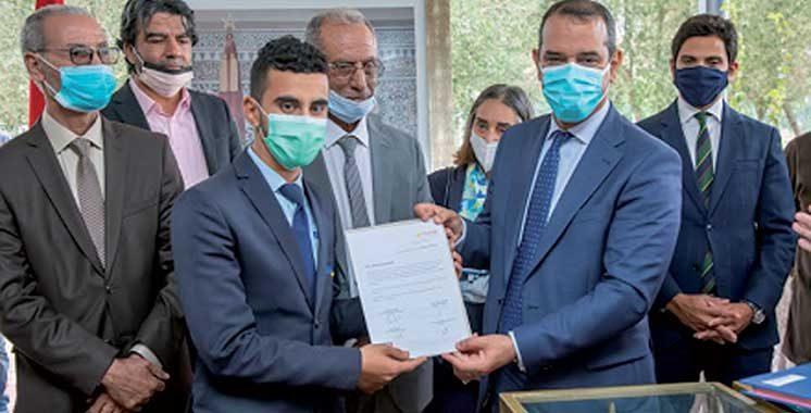 Créée par l'association EMA : «Al Yarmouk», une nouvelle école  de la deuxième chance à Nouaceur