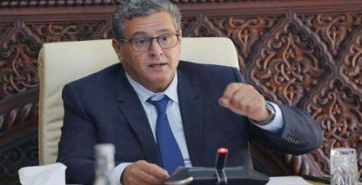 Aziz Akhannouch: Le gouvernement «déterminé à être à la hauteur de l'ambition de SM le Roi»