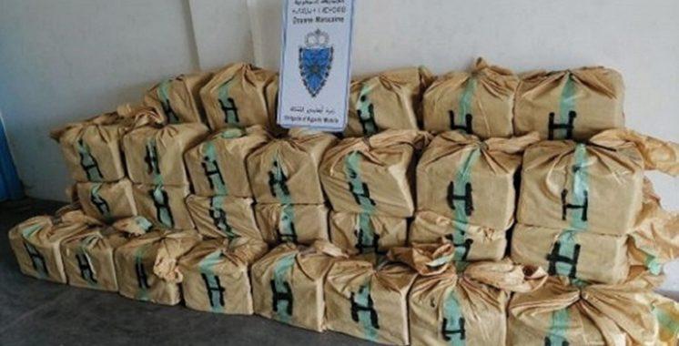 Agadir : Saisie de plus  de 3 tonnes de chira