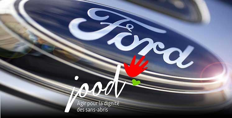Pour contribuer au succès du programme «Agir pour la dignité des sans-abri» : Ford et Ford Fund soutiennent l'association JOOD Maroc