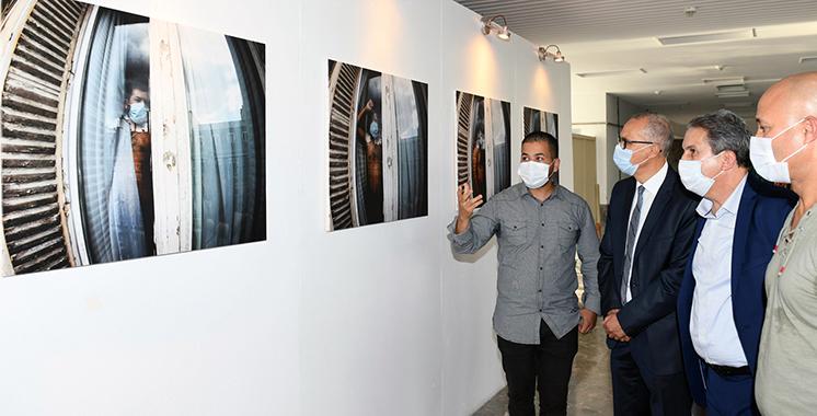 Jusqu'au 17 octobre à Rabat : Hamza Mehimdate expose ses autoportraits inspirés du confinement sanitaire