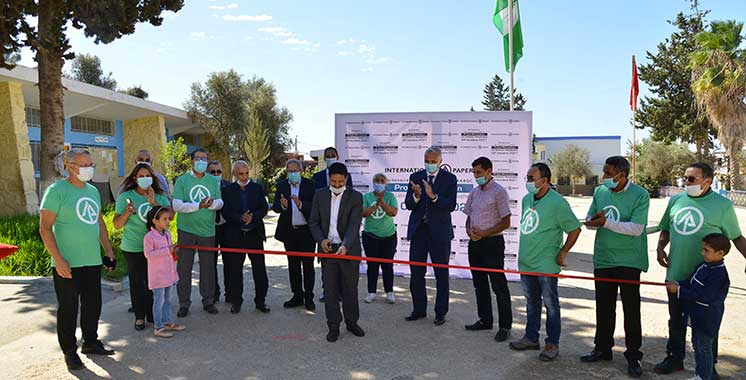 Responsabilité sociale : International Paper Maroc rénove deux écoles primaires