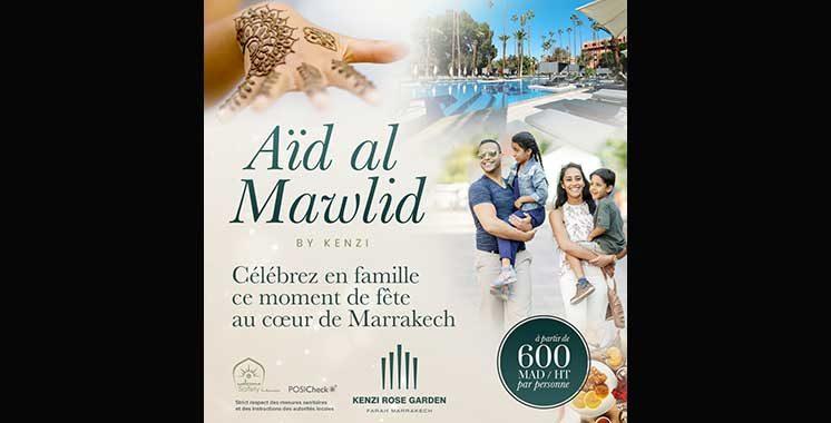 Le Kenzi Rose Garden célèbre Aïd Al Mawlid avec une nouvelle offre