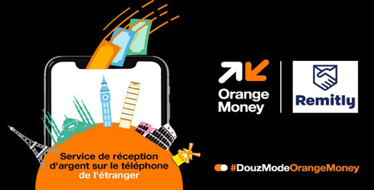 Via l'application mobile Orange Money ou Remitly : Recevez de l'argent de vos proches MRE  en toute sécurité