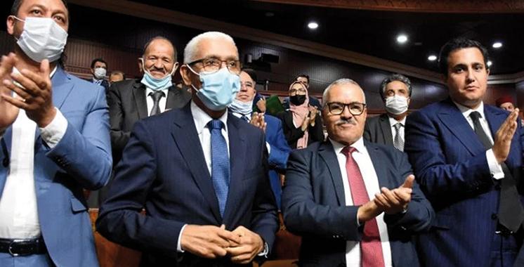 Les nouveaux présidents des deux Chambres plébiscités