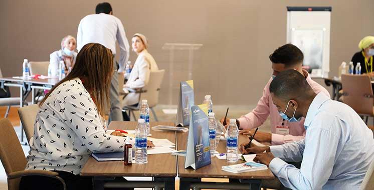 «CRI Speed Banking Day» : 26 jeunes de la région Marrakech-Safi à la rencontre des établissements de financement