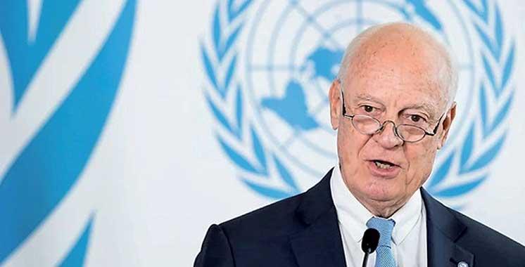 Staffan de Mistura nouvel envoyé personnel du SG de l'ONU pour le Sahara marocain