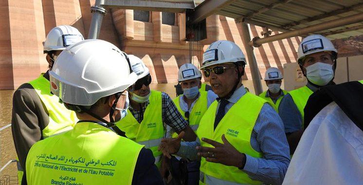 Station de transfert d'énergie de pompage (STEP) Abdelmoumen : 70% des travaux achevés