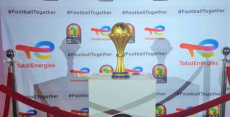 Le trophée de  la CAN débarque  au Maroc