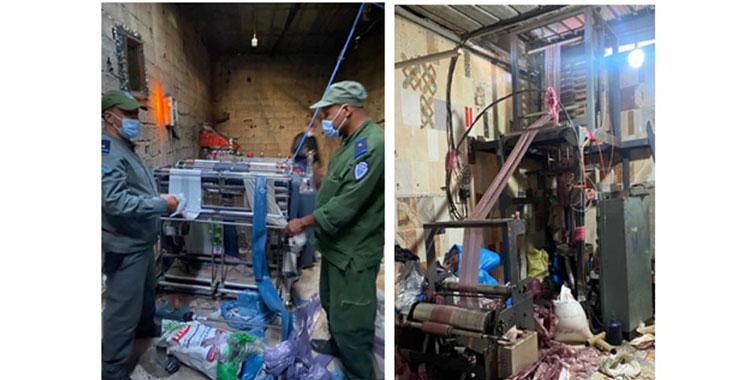 Mohammedia: La Douane saisit plus de 5 tonnes de sacs en plastique prohibés